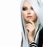 Κορίτσι μόδας ομορφιάς Στοκ φωτογραφία με δικαίωμα ελεύθερης χρήσης