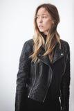 κορίτσι μόδας σύγχρονο Στοκ Εικόνα