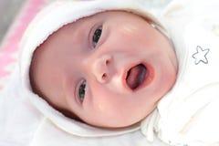 κορίτσι νεογέννητο Στοκ φωτογραφία με δικαίωμα ελεύθερης χρήσης