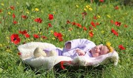 κορίτσι νεογέννητο στοκ εικόνα με δικαίωμα ελεύθερης χρήσης