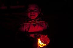 κορίτσι Νεπάλ Στοκ Εικόνες