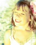 κορίτσι νεράιδων φορεμάτω Στοκ Φωτογραφίες