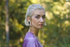 κορίτσι νεραιδών Στοκ φωτογραφία με δικαίωμα ελεύθερης χρήσης