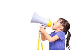 Κορίτσι ομιλητών Στοκ Εικόνες