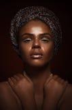 Κορίτσι ομορφιάς μόδας πανέμορφη γυναίκα πορτρέτου Μοντέρνο κούρεμα Στοκ φωτογραφία με δικαίωμα ελεύθερης χρήσης