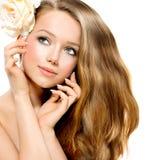 Κορίτσι ομορφιάς Στοκ εικόνες με δικαίωμα ελεύθερης χρήσης