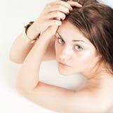 Κορίτσι ομορφιάς στοκ εικόνα με δικαίωμα ελεύθερης χρήσης