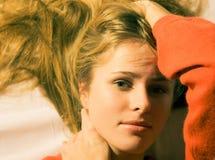 κορίτσι ομορφιάς Στοκ φωτογραφίες με δικαίωμα ελεύθερης χρήσης