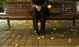 κορίτσι πάγκων Στοκ φωτογραφίες με δικαίωμα ελεύθερης χρήσης