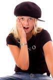 κορίτσι παιδιών το ohh μου Στοκ Φωτογραφία