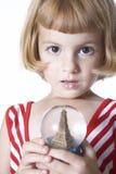 κορίτσι Παρίσι Στοκ Εικόνα