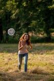 κορίτσι πεταλούδων καθαρό Στοκ εικόνες με δικαίωμα ελεύθερης χρήσης
