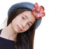κορίτσι πορτών επόμενο Στοκ φωτογραφία με δικαίωμα ελεύθερης χρήσης