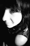 κορίτσι που ανατρέχει Στοκ φωτογραφίες με δικαίωμα ελεύθερης χρήσης