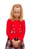 Κορίτσι που βλάπτεται Στοκ φωτογραφία με δικαίωμα ελεύθερης χρήσης