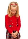 Κορίτσι που βλάπτεται Στοκ Εικόνα