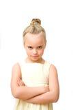 Κορίτσι που βλάπτεται Στοκ Φωτογραφία