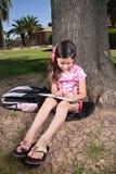 κορίτσι που γράφει youg στοκ φωτογραφία με δικαίωμα ελεύθερης χρήσης