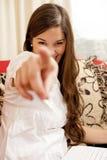 κορίτσι που δείχνει σας Στοκ εικόνα με δικαίωμα ελεύθερης χρήσης