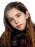 κορίτσι που ενοχλείται Στοκ φωτογραφίες με δικαίωμα ελεύθερης χρήσης