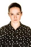 κορίτσι που ενοχλείται Στοκ φωτογραφία με δικαίωμα ελεύθερης χρήσης