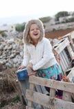Κορίτσι που κάνει το ανόητο πρόσωπο Στοκ εικόνα με δικαίωμα ελεύθερης χρήσης