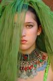 κορίτσι που καλύπτεται Στοκ φωτογραφία με δικαίωμα ελεύθερης χρήσης