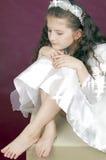 κορίτσι που κουράζεται Στοκ εικόνες με δικαίωμα ελεύθερης χρήσης