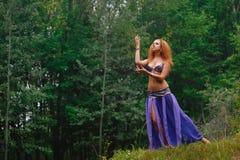 Όμορφος ασιατικός χορός Στοκ φωτογραφία με δικαίωμα ελεύθερης χρήσης