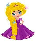 Κορίτσι πριγκηπισσών Στοκ Εικόνες