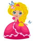 Κορίτσι πριγκηπισσών Στοκ εικόνα με δικαίωμα ελεύθερης χρήσης