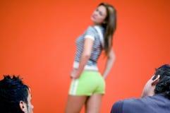 κορίτσι προκλητικό στοκ φωτογραφίες