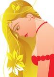 κορίτσι προκλητικό απεικόνιση αποθεμάτων