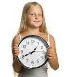 κορίτσι ρολογιών μεγάλο Στοκ φωτογραφίες με δικαίωμα ελεύθερης χρήσης