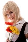 κορίτσι ρομαντικό Στοκ εικόνα με δικαίωμα ελεύθερης χρήσης