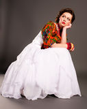 κορίτσι ρωσικά μόδας Στοκ Φωτογραφία
