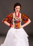 κορίτσι ρωσικά μόδας Στοκ φωτογραφίες με δικαίωμα ελεύθερης χρήσης