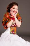 κορίτσι ρωσικά μόδας Στοκ Φωτογραφίες