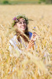 κορίτσι ρωσικά Στοκ εικόνα με δικαίωμα ελεύθερης χρήσης
