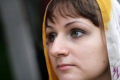 κορίτσι σοβαρό στοκ εικόνα με δικαίωμα ελεύθερης χρήσης