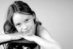κορίτσι σοβαρό Στοκ φωτογραφίες με δικαίωμα ελεύθερης χρήσης