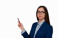 Κορίτσι στα γυαλιά Στοκ εικόνα με δικαίωμα ελεύθερης χρήσης
