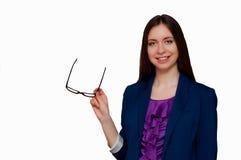 Κορίτσι στα γυαλιά Στοκ φωτογραφία με δικαίωμα ελεύθερης χρήσης