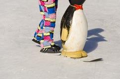 Κορίτσι στα σαλάχια αριθμού Στοκ εικόνες με δικαίωμα ελεύθερης χρήσης