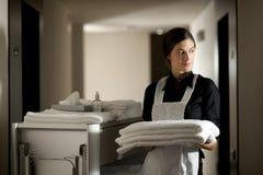 Κορίτσι στην εργασία Στοκ φωτογραφία με δικαίωμα ελεύθερης χρήσης
