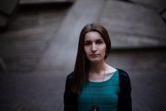 Κορίτσι στην οδό Στοκ Εικόνες