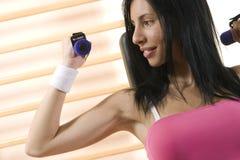 Κορίτσι στη γυμναστική Στοκ εικόνα με δικαίωμα ελεύθερης χρήσης