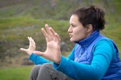 Κορίτσι στη φύση Στοκ φωτογραφία με δικαίωμα ελεύθερης χρήσης