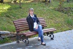 Κορίτσι στις διακοπές Στοκ εικόνες με δικαίωμα ελεύθερης χρήσης