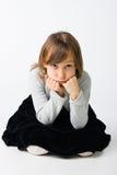 κορίτσι στοχαστικό Στοκ Εικόνα